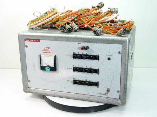 Electronic Test Powerstat Type 116 / Hevi-Duty Transformer ESS TFX 5318