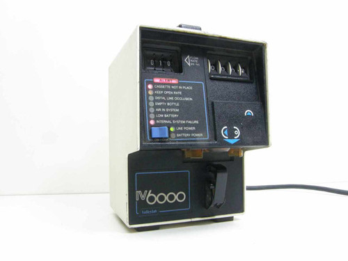 Valley Lab IV 6000  Infusion Pump
