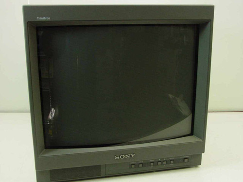 "Sony PVM-1954Q  HR Trinitron 19"" COLOR VIDEO MONITOR - As Is Part"