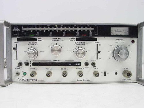 Wavetek 2002A  2.5GHz Sweep Signal Generator - As Is No Power