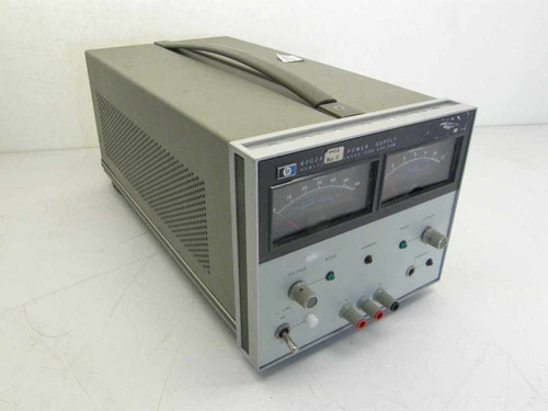 HP 6002A  Power Supply 0-50v, 10a with Option 1