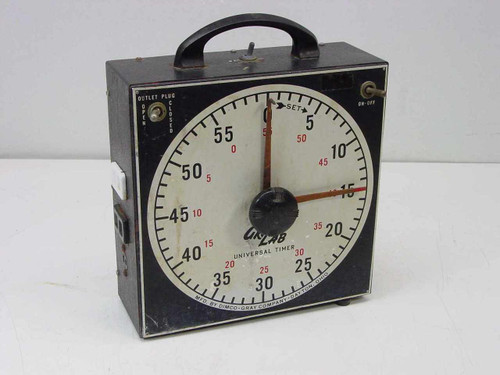 Dimco-Gray Co./GraLab 171  Universal 60 Minute Switching Timer - No Buzzer As Is