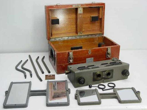 Buhl Optical Co. S547  Scanning Stereoscope Aerial Camera Accessory
