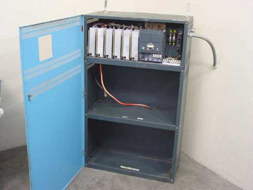 Metal UPS  Cabinet with Battery Charger - No Batteries