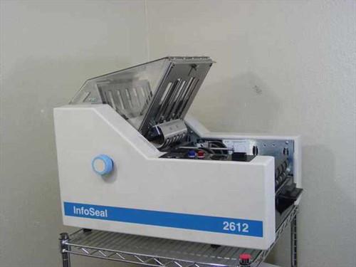 Infoseal 2612  Paper Folder Sealer - No Sheet Feeder - As Is