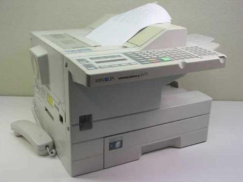Minolta Fax Machine - Missing Telephone Cradle on Back MinoltaFax 5600