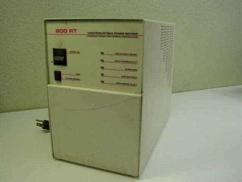 APC 800 RT  800VA Battery Back Up Power Supply UPS - No Battery