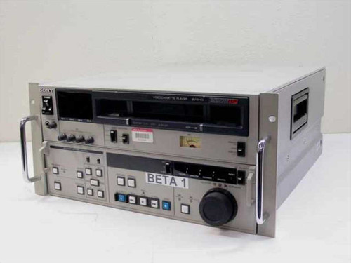Sony BVW-65  Videocassette Player PARTS Unit