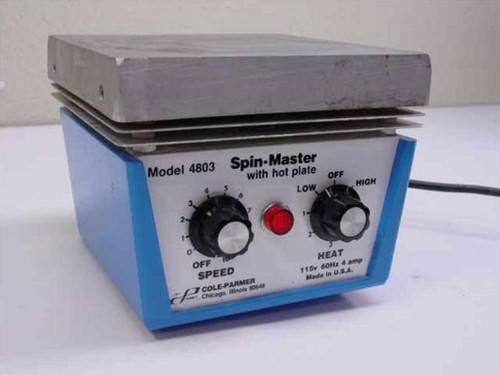 Cole-Parmer 4803  Spin-Master Stirrer with hot plate