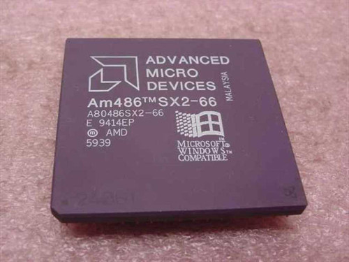 AMD A80486SX2-66  AM486 486 SX2-66 Processor