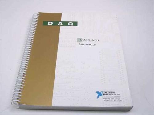 National Instruments AT-MI0-64F-5  DAQ User Manual