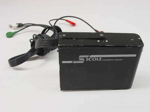 Scole Engineering Company Monitor Recorder w/ Wires ECG