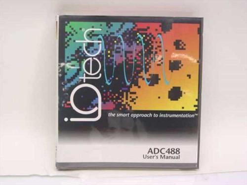 IOtech 100-0920  ADC488/ 16A/ 8SA User's Manual