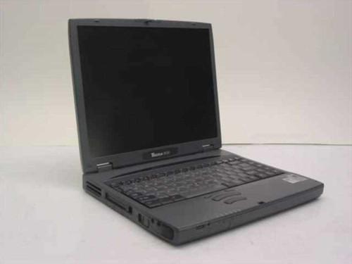 Toshiba Tecra 8100 Laptop 600 MHz 64MB 60GB PT810U-12C52
