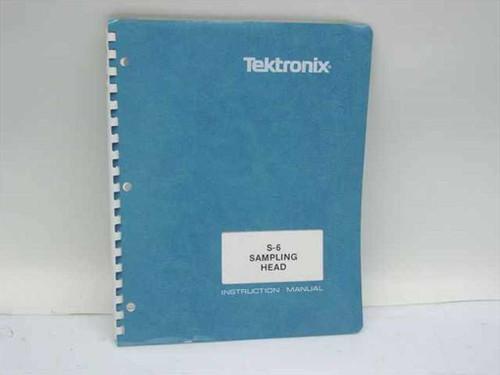 Tektronix 070-1128-01  S-6 Sampling Head Instruction Manual