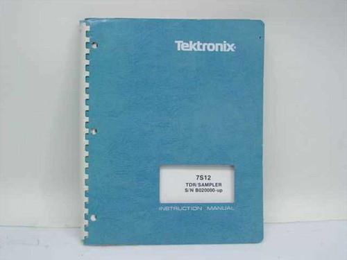 Tektronix 070-1244-00  7S12 TDR/Sampler S/N B020000-up