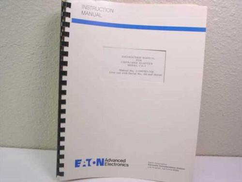 Eaton Advanced Electronics 1-500783-324  Instruction Manual for CISPR/ANSI Adapt