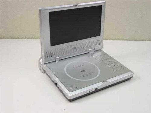 "Initial 7"" Portable DVD Player - Sold As Is for Parts IDM-1731"