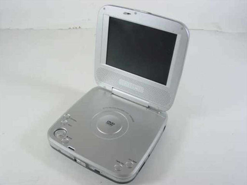 """Initial 5"""" Portable DVD Player - As Is IDM-9530"""