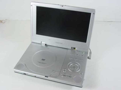 "Initial DVD-1810  8"" Portable DVD Player"