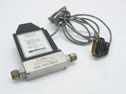 Matheson 8141  Transducer Model 8141 500 PSIG Flow Max