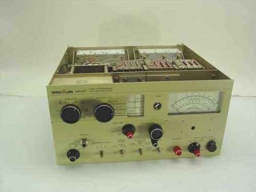 Carnel Labs NM-65T 1-10 GHz EMI Radio Interference Analyzer Receiver