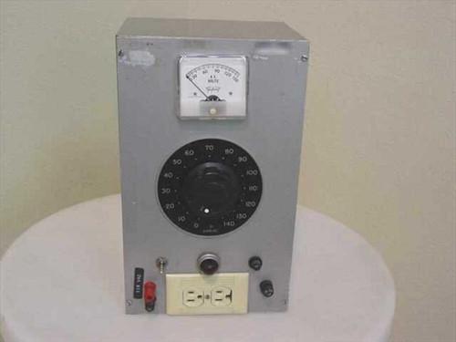 Variac with Triplite  Meter