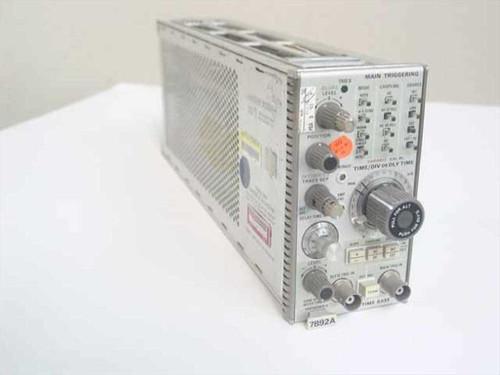 Tektronix 7B92A  Dual Time Base Oscilloscope Plug-In