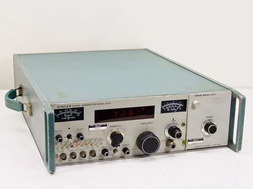 Singer 6201  Signal Generator