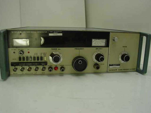 Singer SG-1000  Signal Generator with SG-1001 Frequency Extender