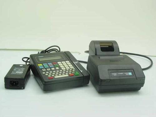 Hypercom T7Q P8F   Credit Card Terminal & Printer
