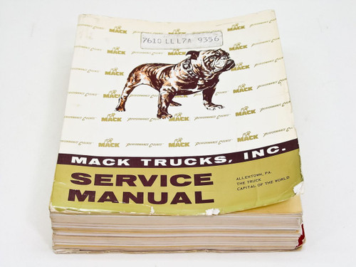 Mack Mack Trucks Inc. Service Manual ts-473