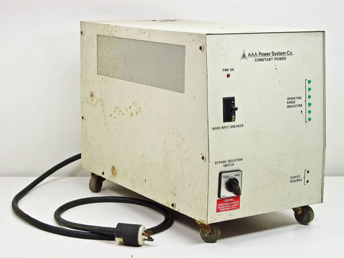 AAA Power Systems Co. 5KVA Constant Power Supply Line Conditioner AR005C0200T1 -