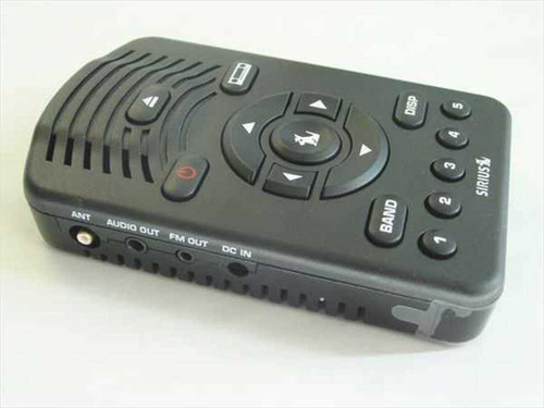 Sirius SV1R  Satellite Radio - Sold for Parts Value Untested
