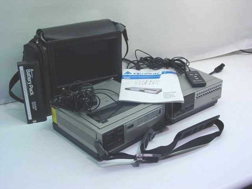 Quasar VP5430WQ  Video Cassette Recorder (VHS) &Tuner As-Is