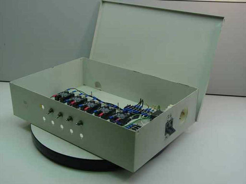 Generic Beige Metal  Power Control Box