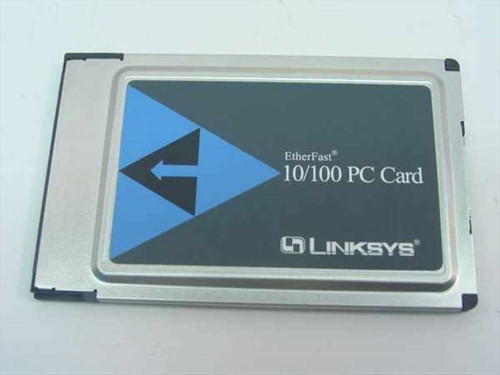 Linksys PCMPC100  EtherFast 10/100 PCMCIA Card No Dongle cable