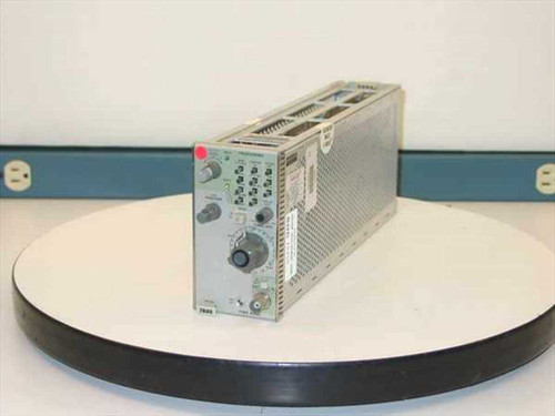 Tektronix 7B80  Time Base Plug-In - As Is for Parts