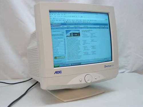 "AOC 17"" CRT Spectrum Color Monitor (7G1R)"