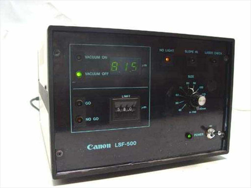 Canon Laser Scanning Flatness Tester LSF-500