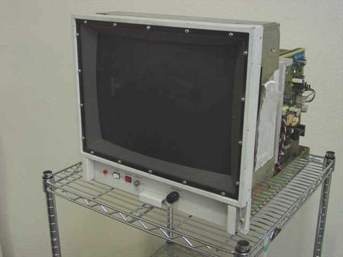 "Aydin 8864 R  P/N 352-8088-501 Ruggedized 18"" CRT Display Monitor"