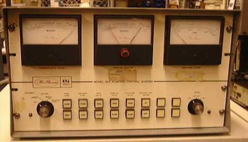 McPherson 815  Pumping Control System