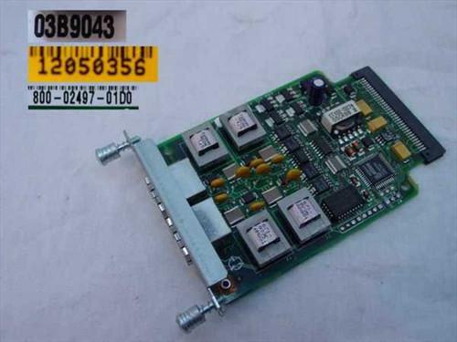 Cisco VIC-2E/M  3600 2 PT VOICE ADAPTER CARD-EM