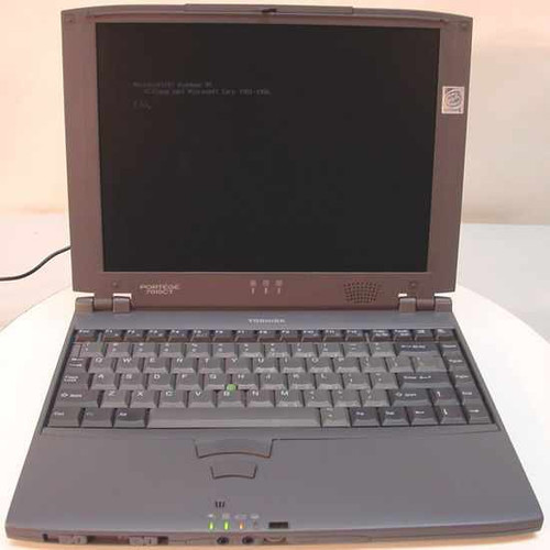 Toshiba PAP701U-T2W5  PII 300MHz Portege 7010CT 32RAM 4.3gbHDD