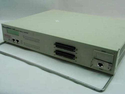 Cabletron MicroMMAC-34E  Micro MMAC 24 Port Hub,2- RJ21, 2-RS232