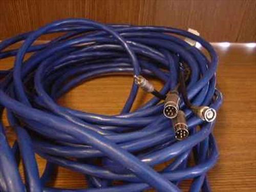 Generic 65'L  65' MIDI/BNC (M) - MIDI/DCA (F) Cable