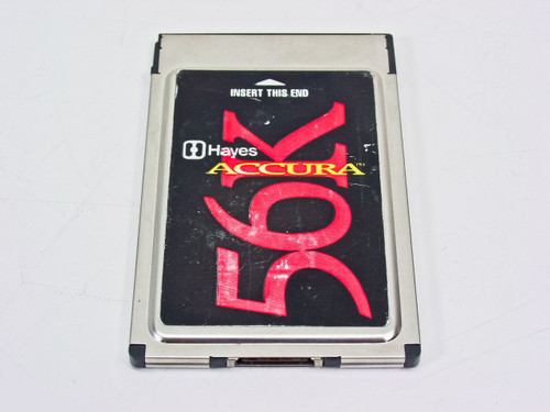 Hayes 56K PCMCIA Card Accura Modem 56840S