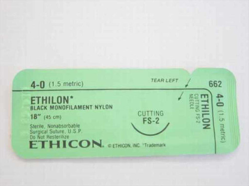 Ethicon 662  Suture, Non-Absorbable 6515-00-965-2253