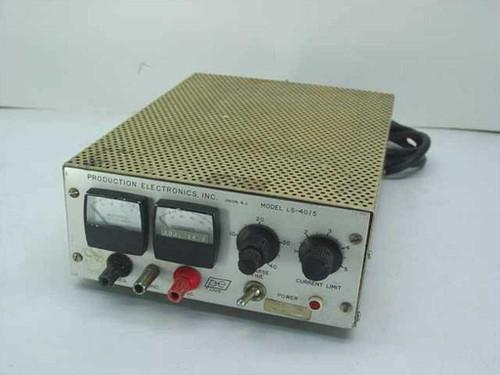 Prod Electronics, Inc. DC Power Supply, 40 V, 5 amp. LS-40/5