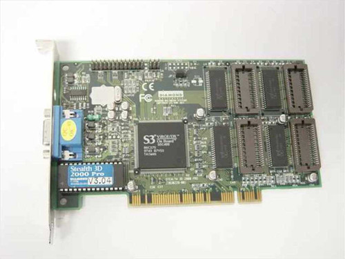 Diamond Stealth 3D 2000 PCI PRO 2 MB& S3 ViRGE/DX (23030229-201)